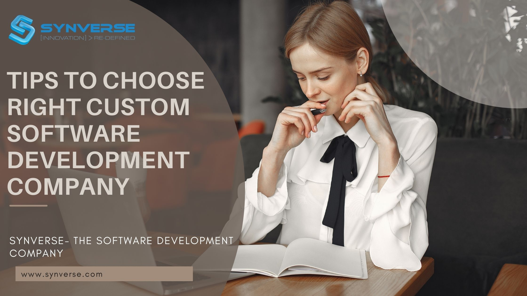 Finest Software Development Agency | tips to choose the right custom software development company UK synverse.com