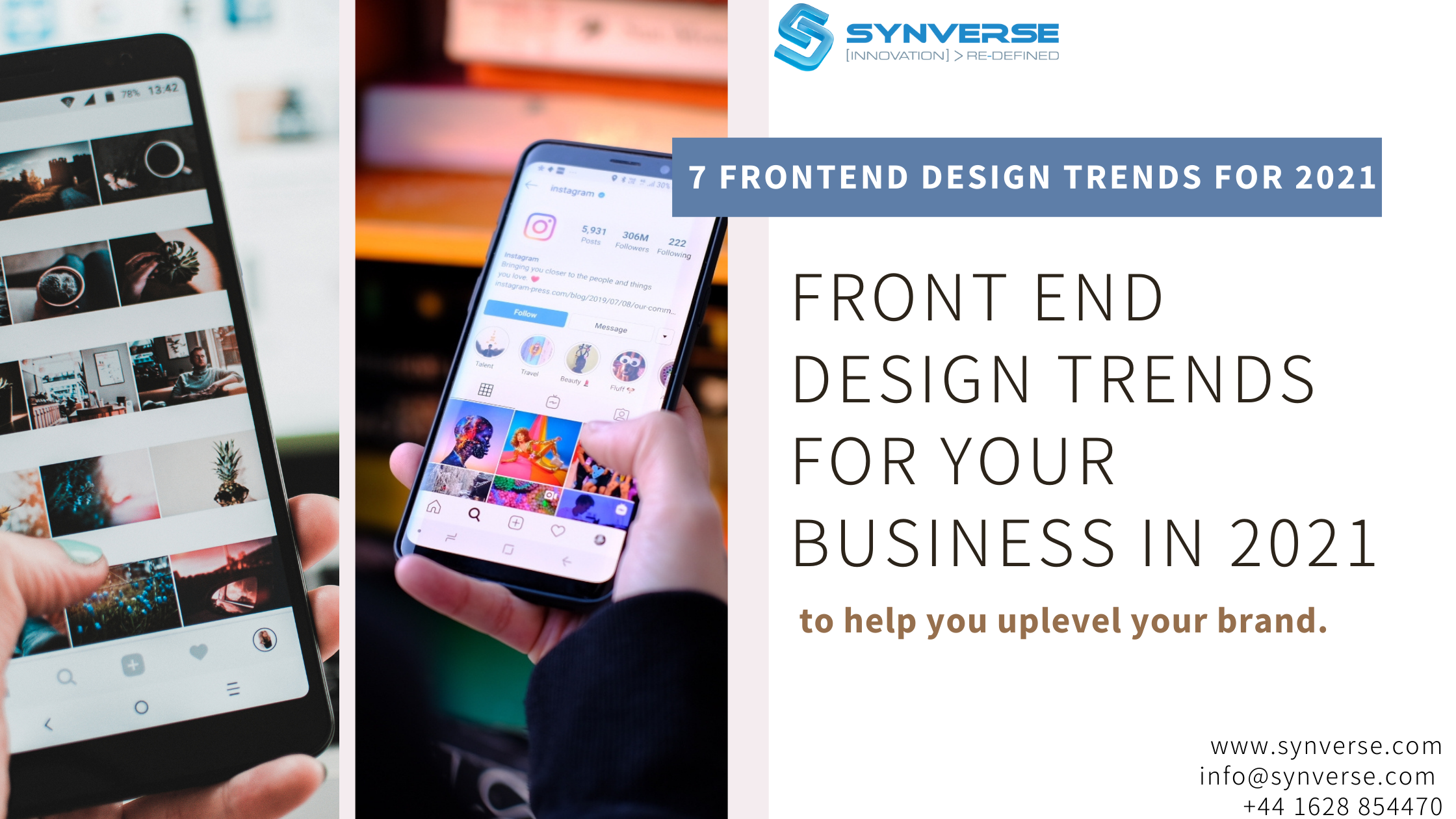 FRONT END DESIGN TRENDS FOR YOUR BUSINESS IN 2021
